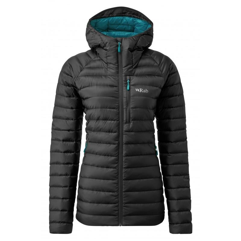 Kurtka zimowa damska|Rab Micriolight Alpine Long Jacket