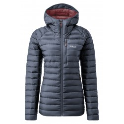 KURTKA DAMSKA RAB MICROLIGHT ALPINE LONG JACKET